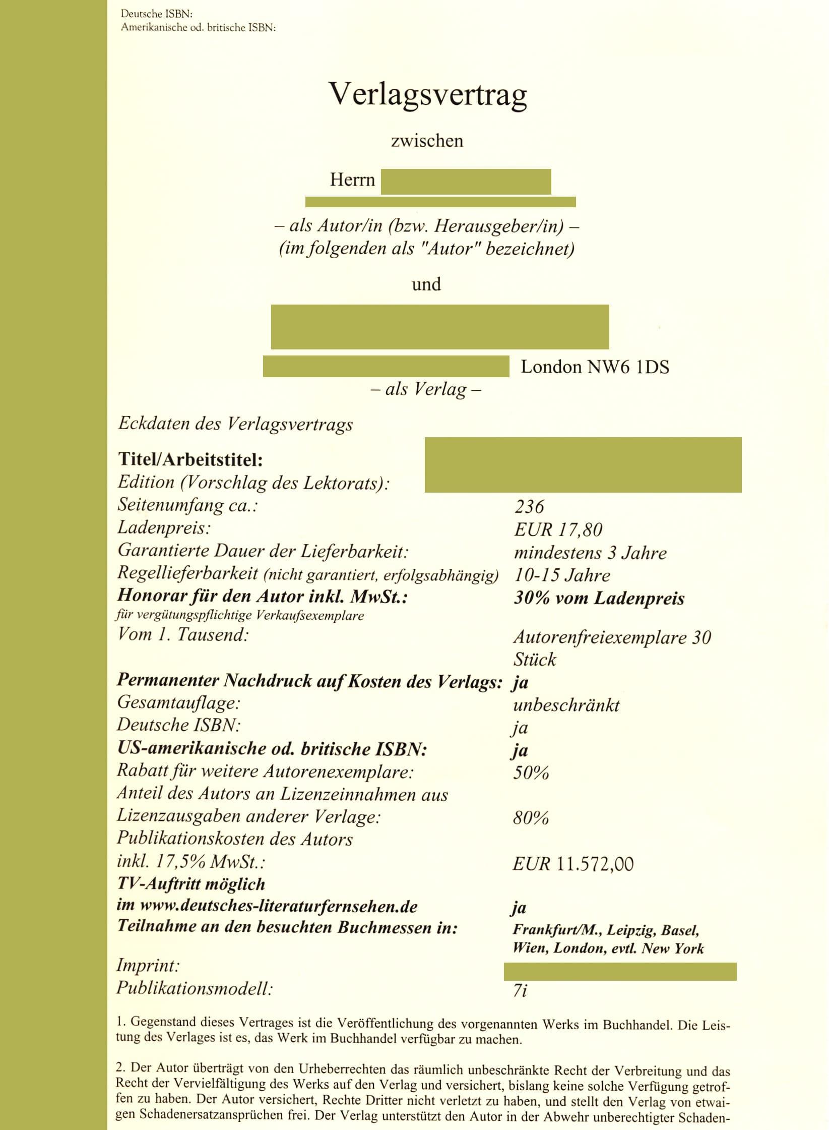 Zuschussverlage 2 Edition Blaes