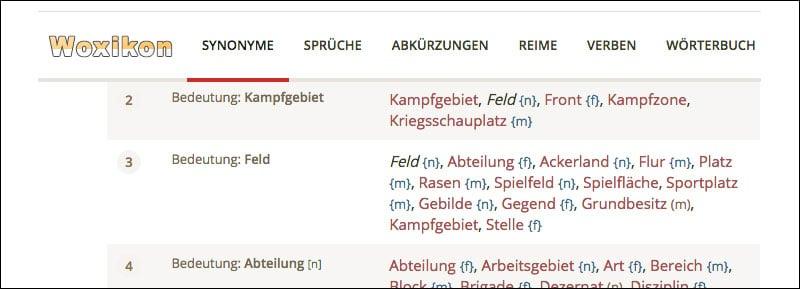 synonym-woerterbuch